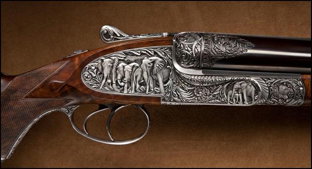 geweer met kogel